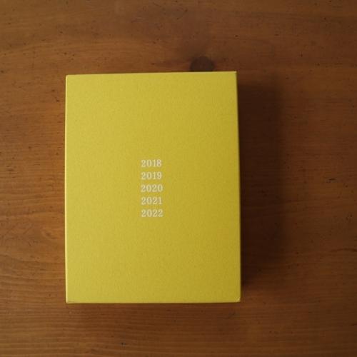 ほぼ日の5年手帳 外箱