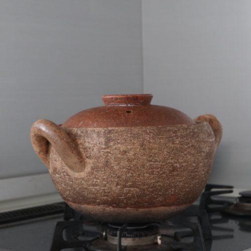 長谷園 味噌汁鍋