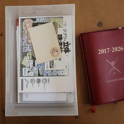 石原10年日記 保存方法